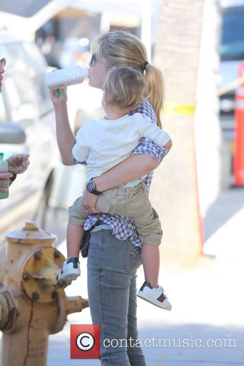Selma Blair, Arthur Saint Bleick, Studio City Farmers Market