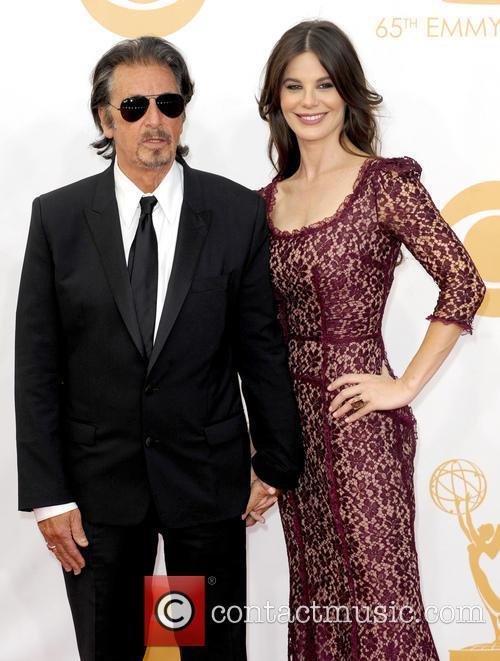Al Pacino and Lucila Sola 2