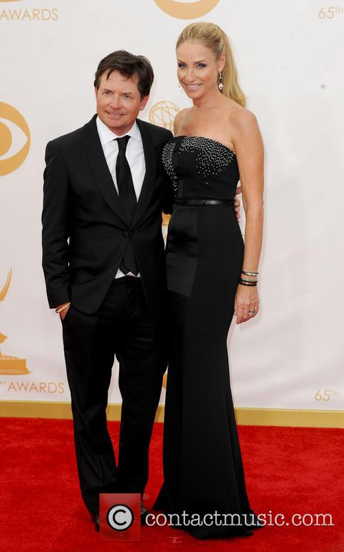 Michael J. Fox and Tracy Pollan 3