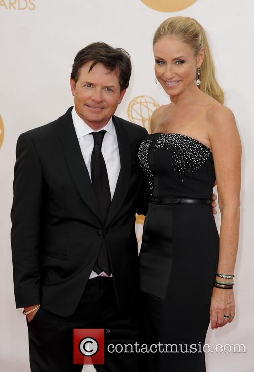 Michael J. Fox and Tracy Pollan 1