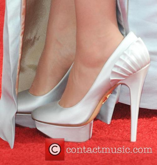 Zooey Deschanel Shoes Emmys