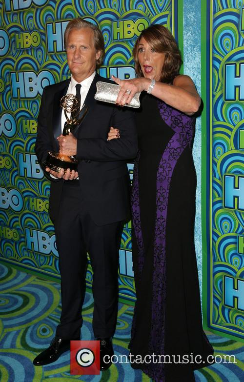 Jeff Daniels, Kathleen Treado, The Plaza at the Pacific Design Center, Primetime Emmy Awards, Emmy Awards