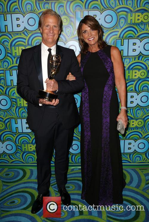 Jeff Daniels, Kathleen Treado, The Plaza at the Pacific Design Center, Primetime Emmy Awards, Emmy Awards