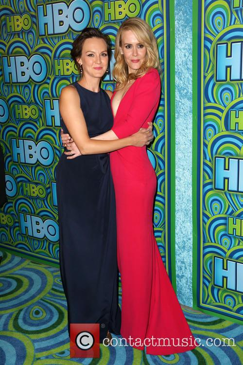 Carla Gallo and Sarah Paulson 1