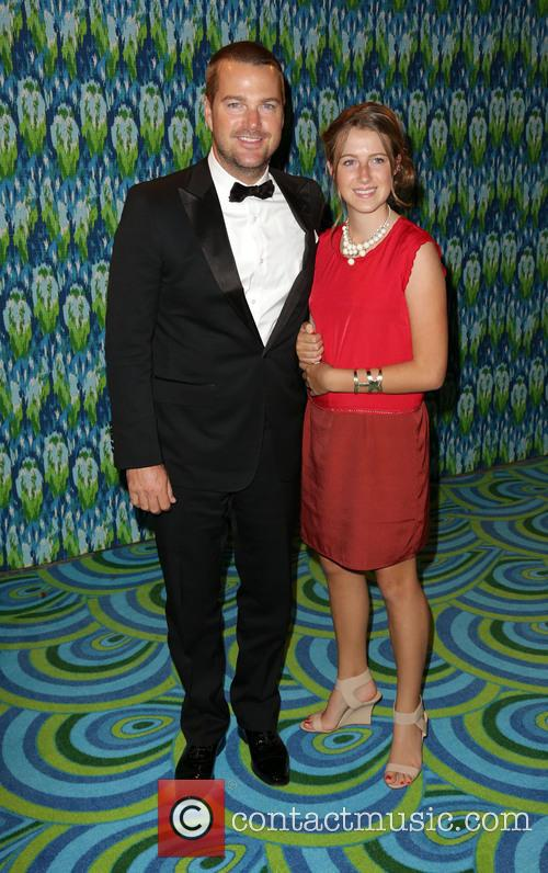 Chris O'Donnell, Caroline Fentress, The Plaza at the Pacific Design Center, Primetime Emmy Awards, Emmy Awards