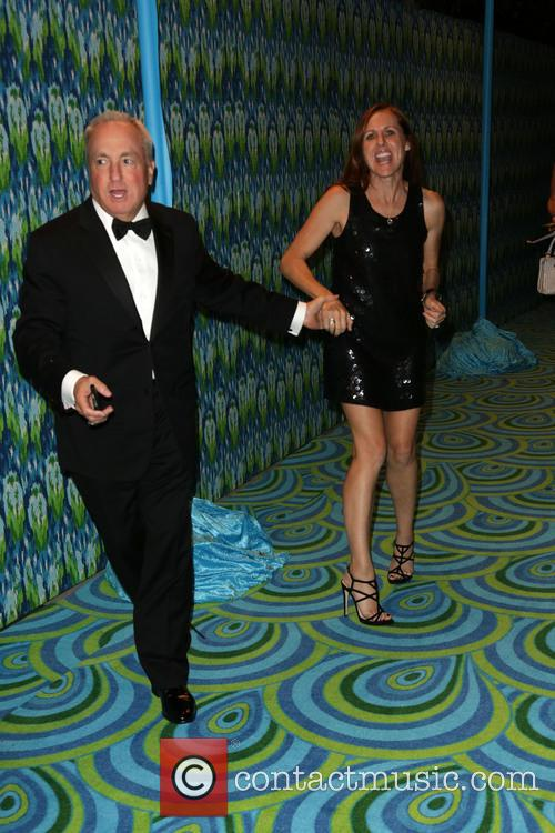 Lorne Michaels and Molly Shannon 3