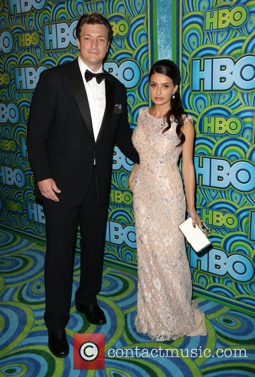 Nathan Fillion and Mikaela Hoover 2