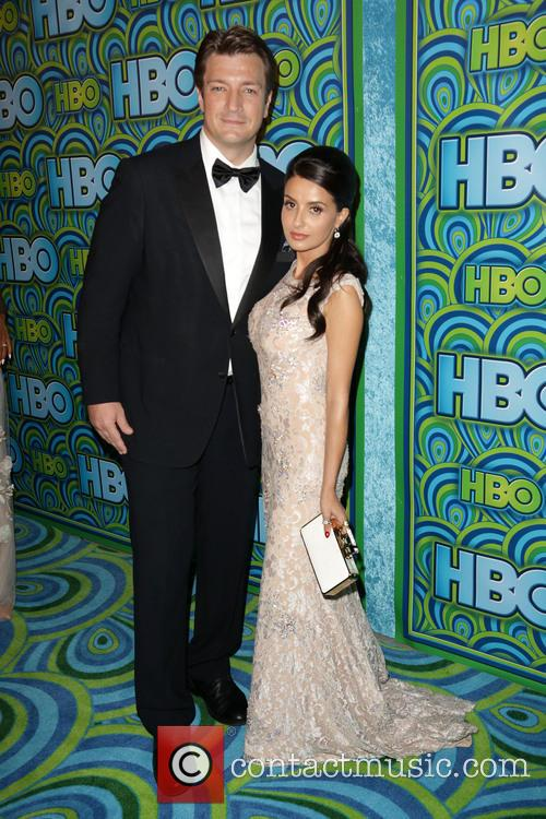Nathan Fillion and Mikaela Hoover 3