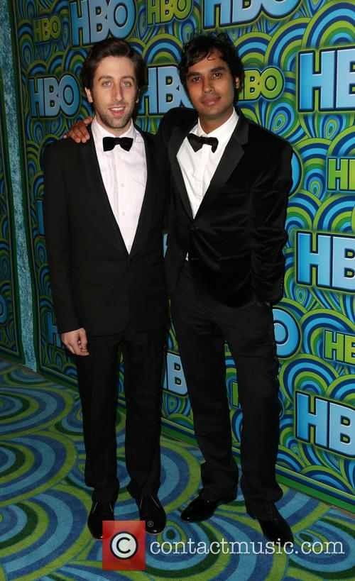 Simon Helberg and Kunal Nayyar 8