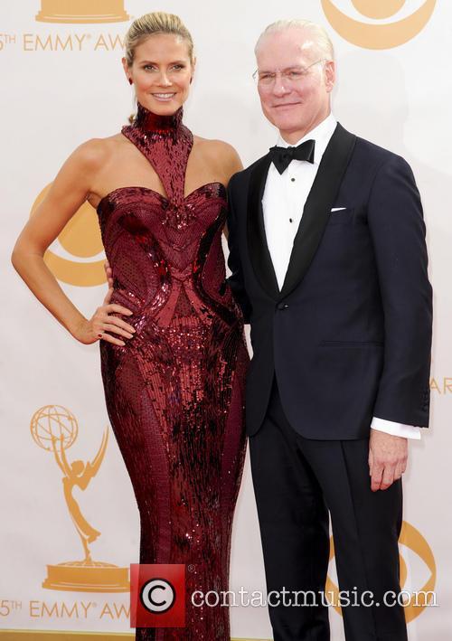 Heidi Klum and Tim Gunn