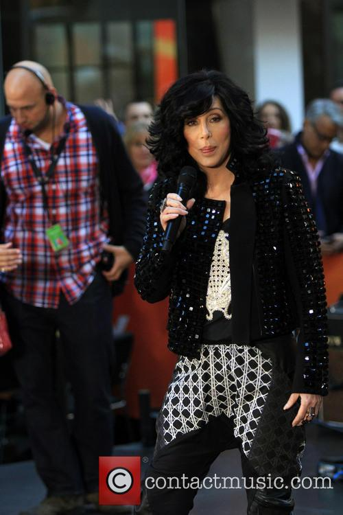 Cher Performs On