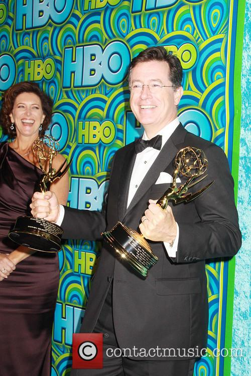 Everlyn McGee Colbert and Stephen Colbert 1