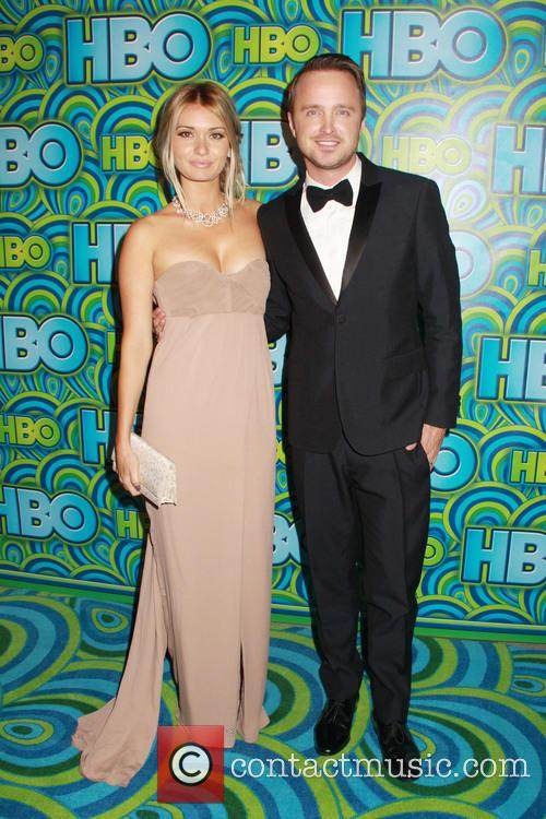 Lauren Parsekian and Aaron Paul 3