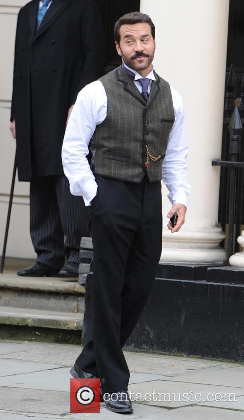 Film set of 'Mr Selfridge'