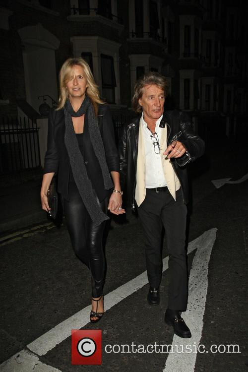 Rod Stewart and Penny Lancaster 7