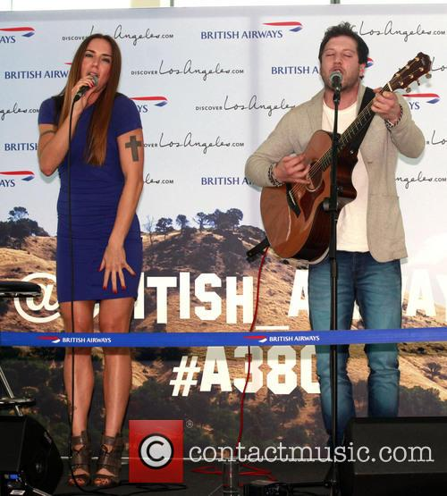 Mel C, Matt Cardle and Melanie Chisholm 1