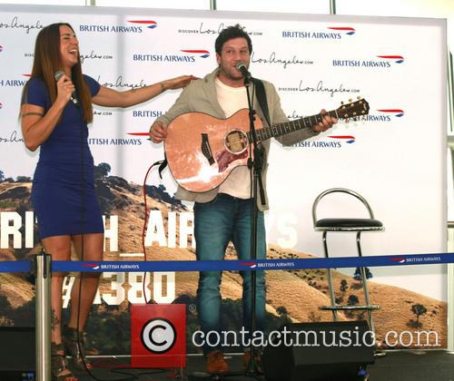Mel C, Melanie Chisholm and Matt Cardle 2