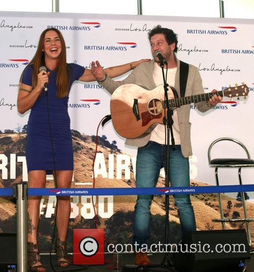 Mel C, Melanie Chisholm and Matt Cardle 8