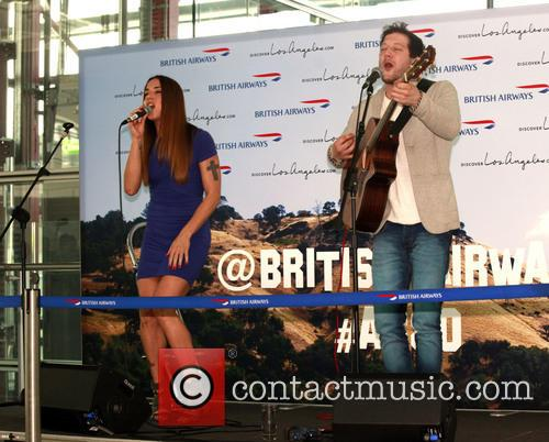 Mel C, Melanie Chisholm and Matt Cardle 9