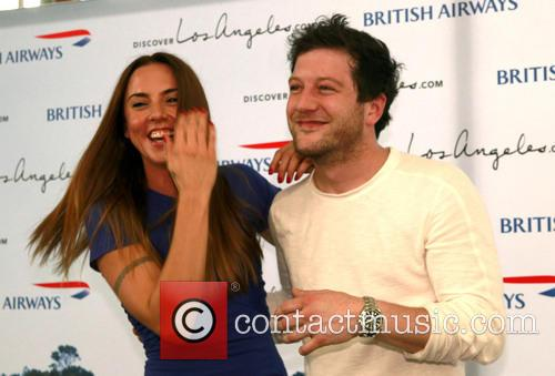 Mel C, Melanie Chisholm, Matt Cardle, Heathrow Airport
