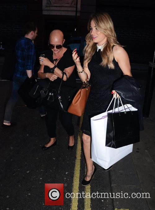 Gail Porter and Sian Welby 7