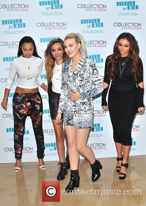 Perrie Edwards, Jesy Nelson, Jade Thirwall and Leigh-anne Pinnock 7
