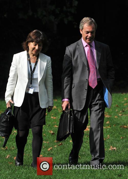 Nigel Farage in Westminster