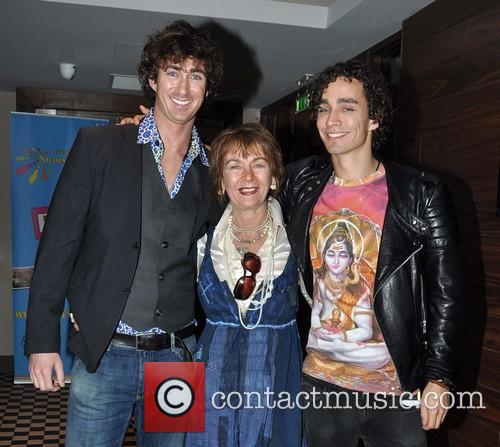 Robert Sheehan, Maria Sheehan and Brendan Sheehan 5