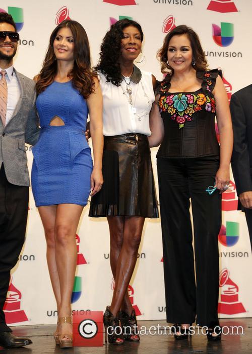 Draco Rosa, Chiqui Delgado, Natalie Cole and Aida Cuevas 11