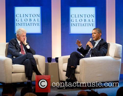 Bill Clinton and President Barack Obama 2