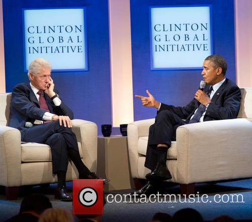 Bill Clinton and President Barack Obama 3