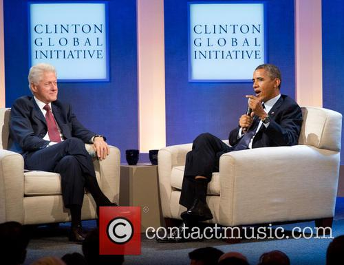 Bill Clinton and President Barack Obama 1