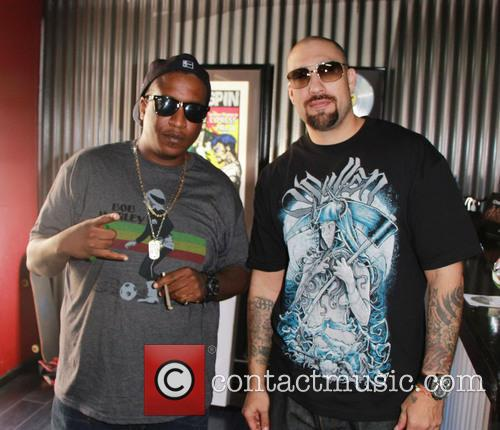 Cypress Hill, Malcolm Greenridge, E.d.i Don, Louis Freese and B-real 7