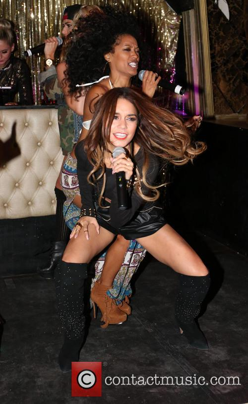 YLA vs Vanessa Hudgens performing live on stage...