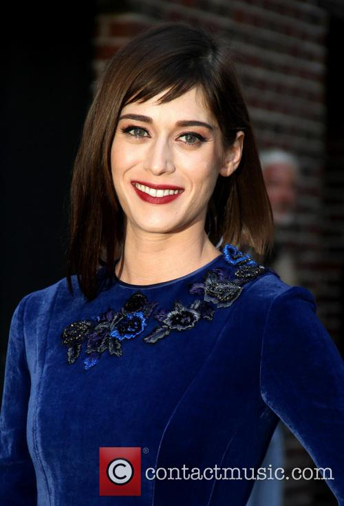 lizzy caplan late show with david letterman 3880226