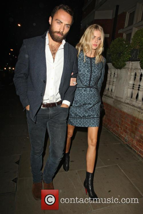 Donna Air and James Middleton 5