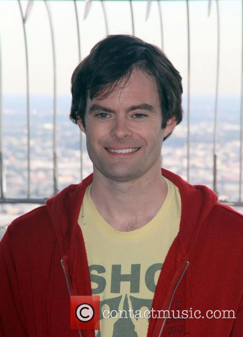 Bill Hader visits The Empire State Building