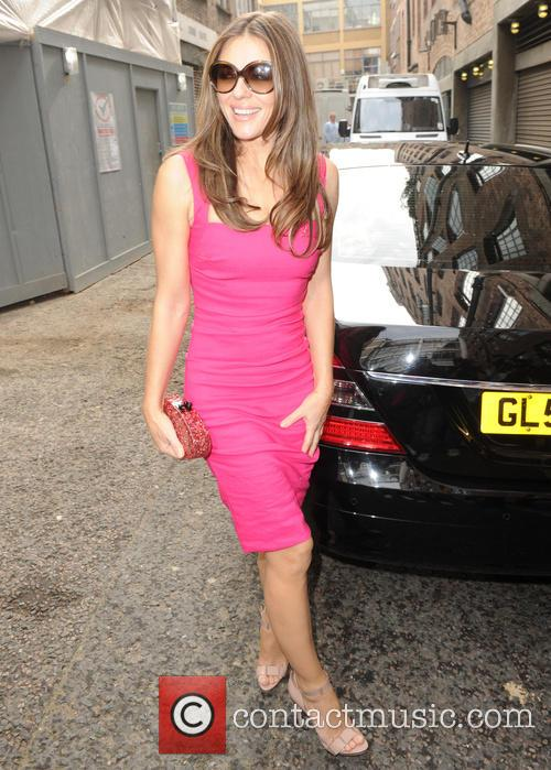 Elizabeth Hurley seen at the Soho hotel