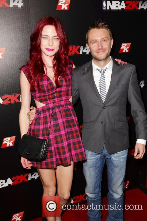 Chloe Dykstra and Chris Hardwick 2