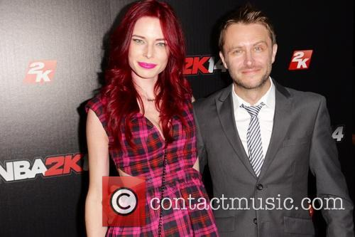 Chloe Dykstra and Chris Hardwick 5