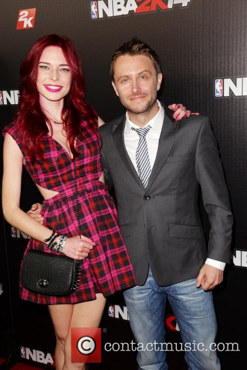 Chloe Dykstra and Chris Hardwick 8