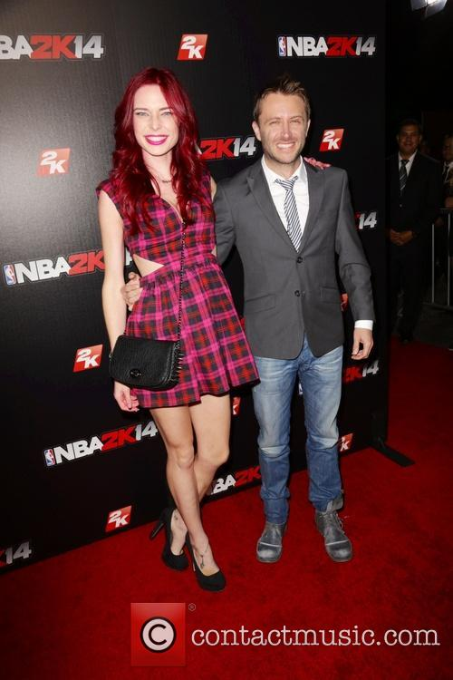 Chloe Dykstra and Chris Hardwick 1