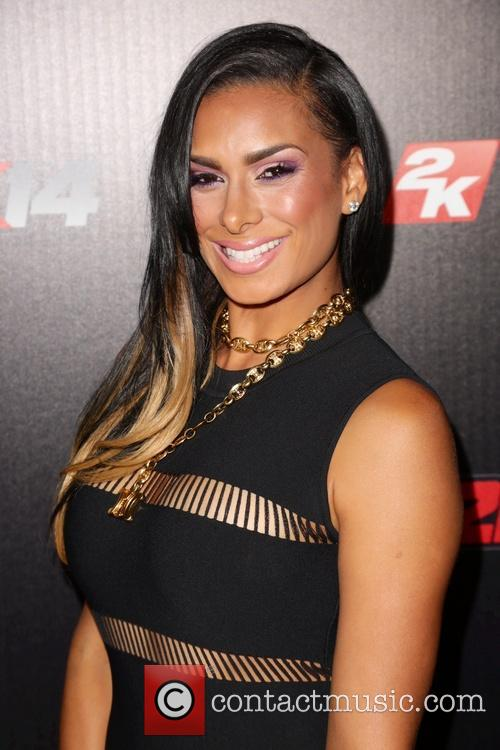 laura govan nba 2k14 premiere party 3880596