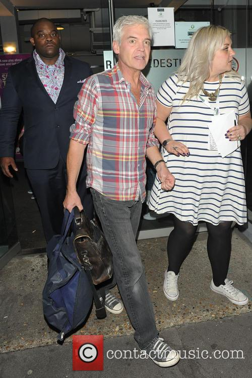Celebrities leaving Riverside Studios