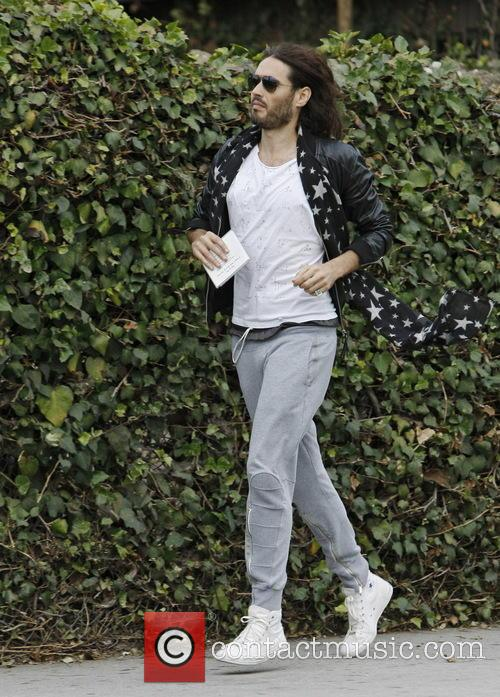 Russell Brand In West Hollywood