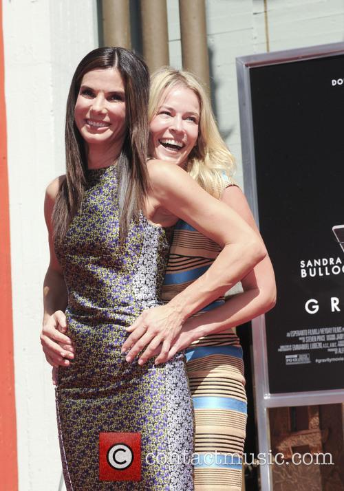 Sandra Bullock and Chelsea Handler 2