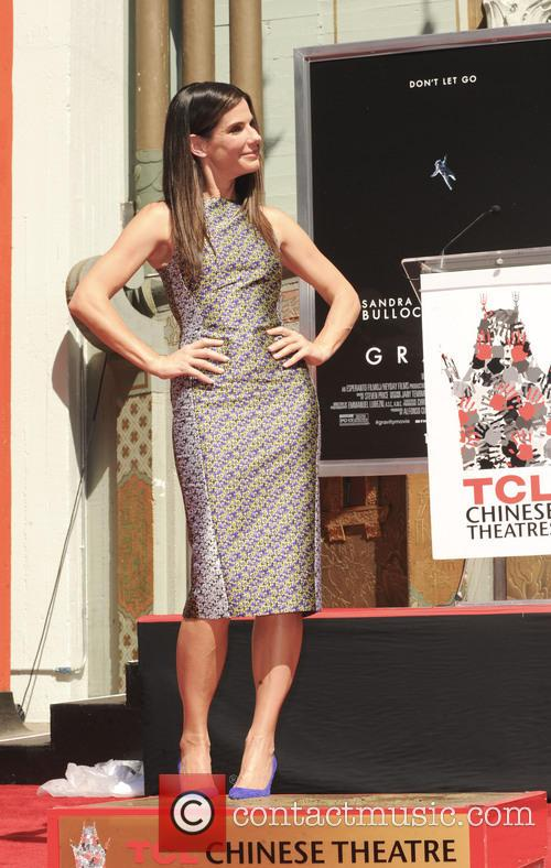 Sandra Bullock Ceremony