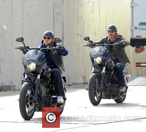 Charlie Hunnam and Tommy Flanagan 10