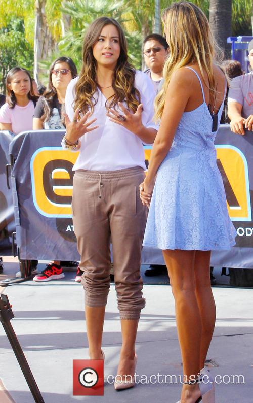 Chloe Bennett seen at Universal Studios for entertainment...