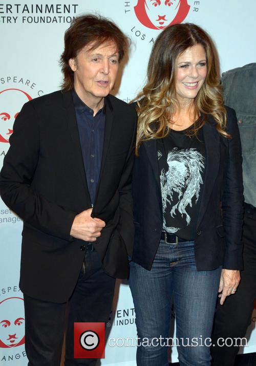 Sir Paul Mccartney and Rita Wilson 4